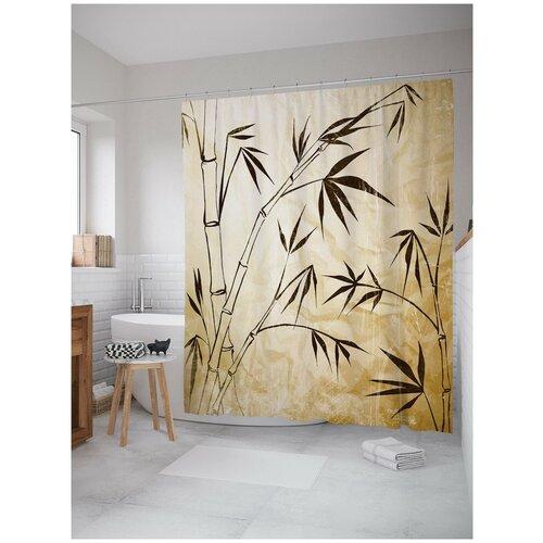 Фото - Штора для ванной JoyArty Бамбуковая тропа 180х200 (sc-15781) штора для ванной joyarty подарки для семьи 180х200 sc 78656