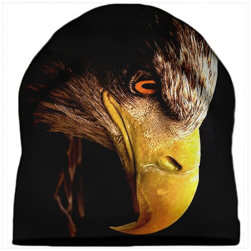 Шапка мужская Голова орла