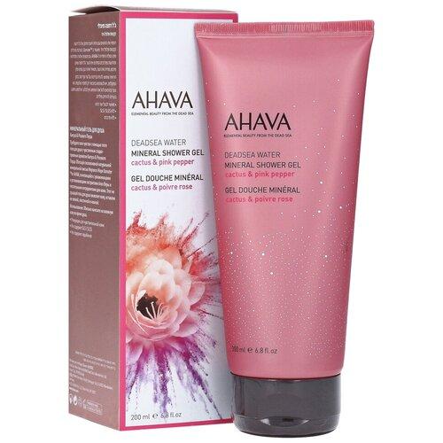 Купить Гель для душа AHAVA Deadsea water Cactus & pink pepper, 200 мл