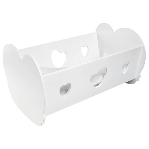 Фото - PAREMO Кроватка-люлька для кукол (PFD120) белый paremo набор мебели для кукол цветок pfd120 45 pfd120 46 pfd120 44 pfd120 42 pfd120 43 белый фиолетовый