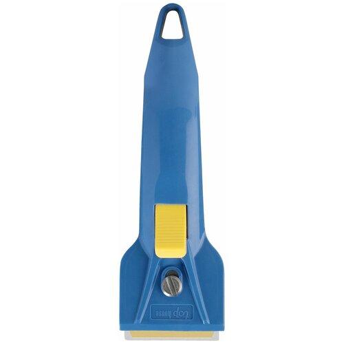 Скребок Top House Скребок для чистки стеклокерамики синий/желтый