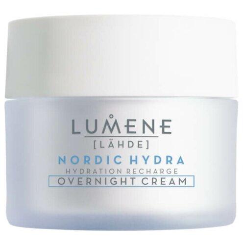 Lumene Lahde Nordic Hydra Hydration Recharge Overnight Cream Ночной увлажняющий восстанавливающий крем для лица, 50 мл недорого