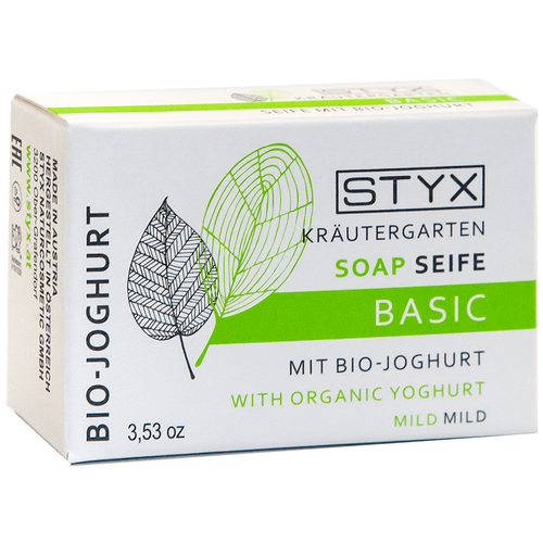 Мыло кусковое Styx Био-Йогурт, 100 г