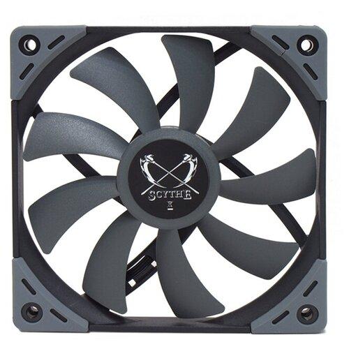 Вентилятор для корпуса Scythe Kaze Flex 120 мм Slim PWM серый/черный 1 шт.