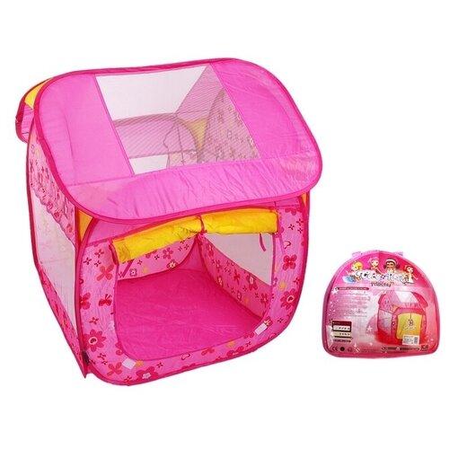 Купить Игровая палатка «Дом принцессы», цвет розовый, металлический каркас, Сима-ленд, Игровые домики и палатки