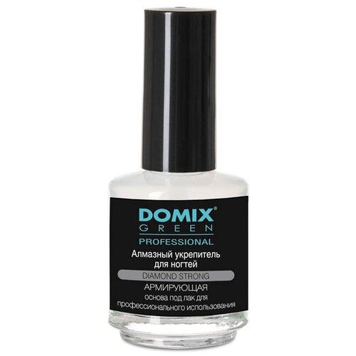 Фото - Средство для ухода Domix Green Professional Алмазный укрепитель для ногтей, 17 мл domix средство green professional для ногтей профессиональный уход от грибка 18 мл
