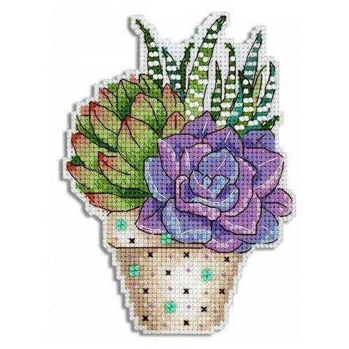 Купить Жар-птица Набор для вышивания бисером и нитками Цветное настроение 13 х 9 см (Р-418), Наборы для вышивания
