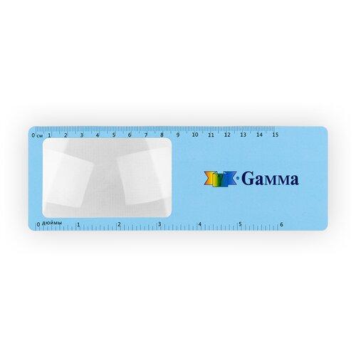 Фото - Лупа-закладка., SS-403, Гамма, голубой, белый gamma карандаш для кройки ss 017 белый