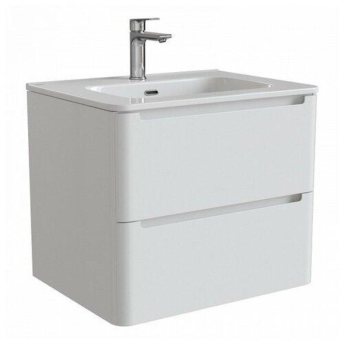 Тумба для ванной комнаты с раковиной IDDIS Edifice 60/80, ШхГхВ: 60х47х50 см, цвет: белый тумба для ванной комнаты с раковиной iddis cloud шхгхв 100 3х45 5х50 см цвет белый