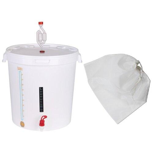 Комплект для брожения (Улучшенный с мешком) на 30 литров