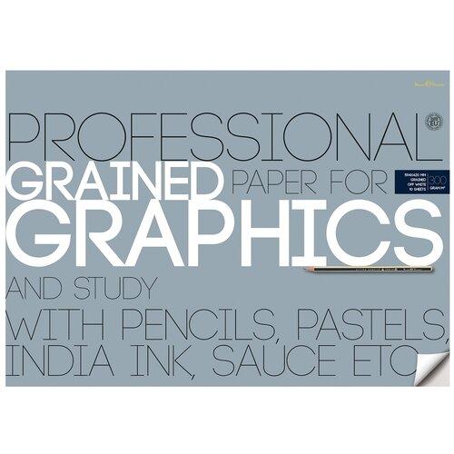 Фото - Папка бумаги для графики Bruno Visconti 59.4 х 42 см (A2), 300 г/м², 10 л. папка для рисования bruno visconti 42 х 29 7 см a3 160 г м² 20 л