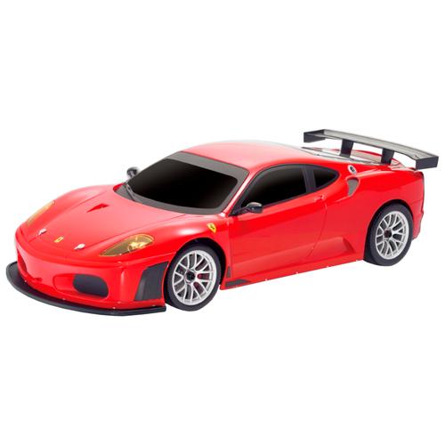 Фото - Легковой автомобиль MJX Ferrari F430 GT (MJX-8108) 1:20 22 см красный радиоуправляемые игрушки mjx радиоуправляемый автомобиль 1 20 ferrari california