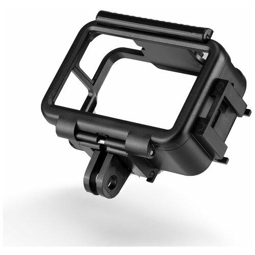 Фото - Telesin Рамка для DJI Osmo Action с горизонтальным и вертикальным крепежом telesin защелка с двумя креплениями для камер и аксессуаров черный