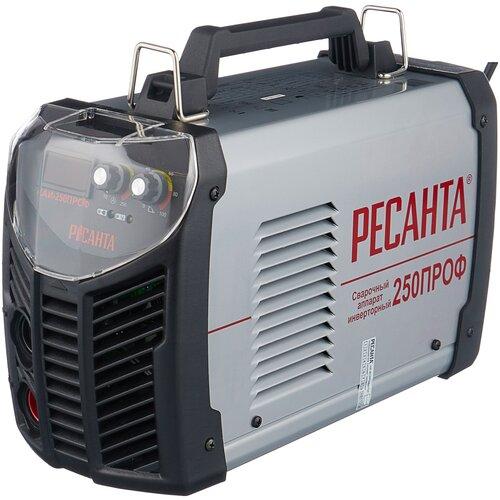 Сварочный аппарат инверторного типа РЕСАНТА САИ-250ПРОФ MMA сварочный аппарат инверторного типа ресанта саи 190 краги mma