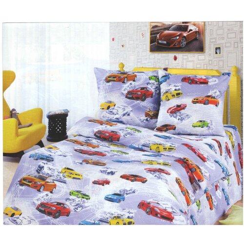Комплект постельного белья, бязь (Автомир) (1,5)