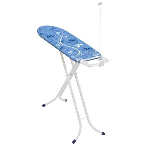 Фото - Leifheit гладильная доска AirBoard Compact S белый/синий гладильная доска leifheit airboard compact s 110x30cm 72584