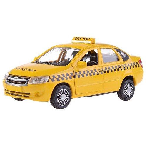 Купить Легковой автомобиль Autogrand Lada Granta такси (33956), желтый/черный, Машинки и техника