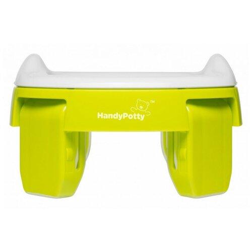 ROXY-KIDS горшок дорожный HandyPotty HP-250 лайм