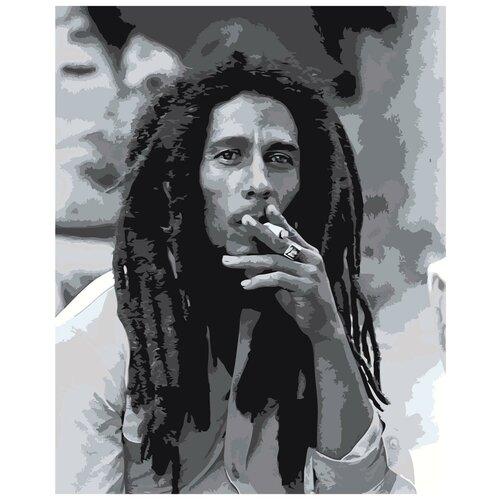 Черно-белое фото Раскраска картина по номерам на холсте