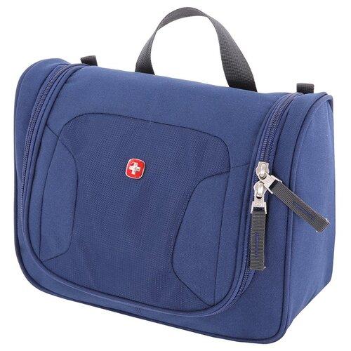 Несессер Swissgear, синий, 27х11х22 см, шт SA1092343002