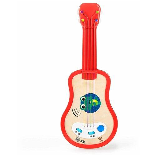 Купить Hape гитара 11874 красный, Детские музыкальные инструменты