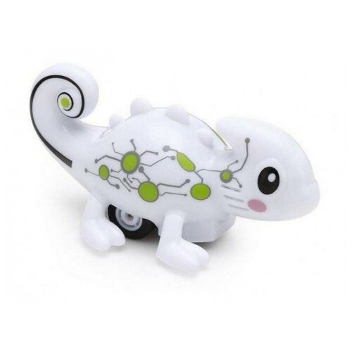 Робот Happy Cow Хамелеон 777-613 белый робот мини танк шпион happy cow i spy с камерой wifi 777 270 gray