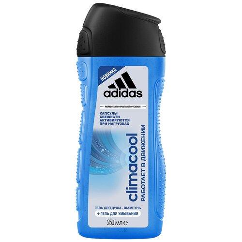 Гель для душа 3 в 1 Adidas Climacool для мужчин, 250 мл