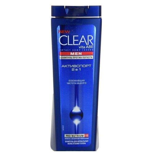 Clear шампунь Для Мужчин 2 в 1 Активспорт, 200 мл clear шампунь для мужчин 2 в 1