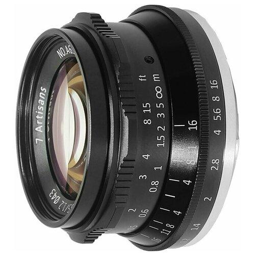 Фото - Объектив 7artisans 35mm f/1.2 Sony E объектив 7artisans e mount 35 mm f 2 0 17979