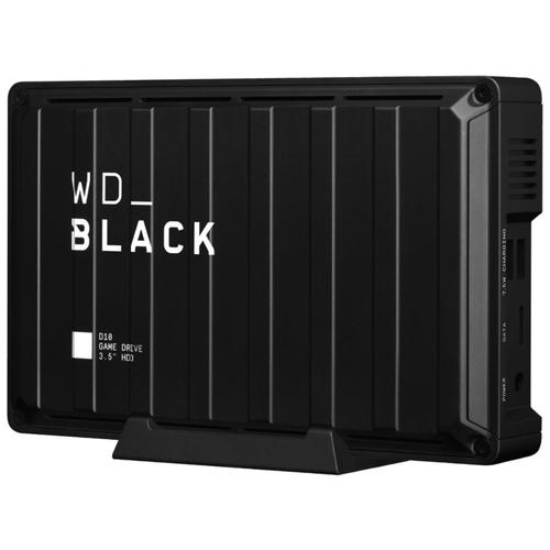 Внешний HDD WD_Black 8 ТБ D10 Game Drive 7200 RPM для PS5/PS4 Xbox Series X/S Xbox One PC Mac (WDBA3P0080HBK-NESN)