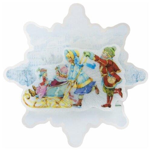 Фото - Панно Феникс Present Счастливое семейство 13.2 x 13.2 x 3 см наклейка феникс present морозный узор 54 x 21 см