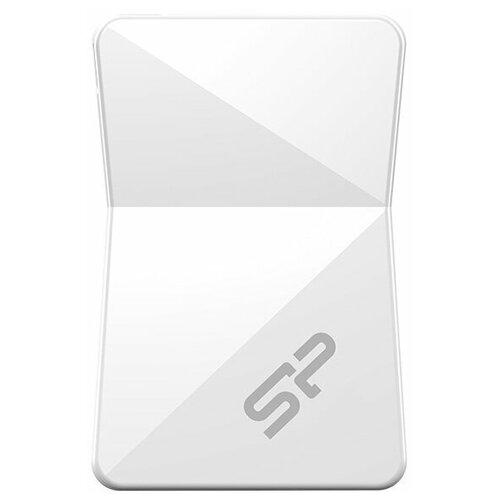 Фото - Флешка Silicon Power Touch T08 32 GB, белый флешка exployd 580 64 gb black
