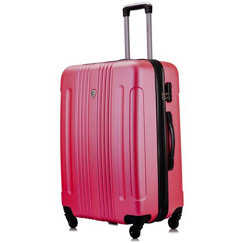 Чемодан L'case Bangkok Peach pink (Розовый) L 33*47*72с расширением