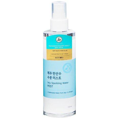 Shingmulnara Спрей Jeju Sparkling Water Увлажняющий мист для лица с термальной водой, 150 мл