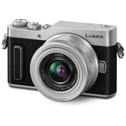 Фото - Фотоаппарат Panasonic Lumix DC-GX880 Kit серебристый G VARIO 1:3.5-5.6/12-32 ASPH. MEGA O.I.S. объектив panasonic 12 35mm f 2 8 ii asph o i s lumix g x vario h hsa12035