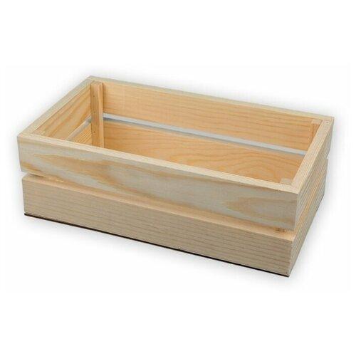 Купить Mr. Carving Заготовка для декорирования Ящик ВД-467 бежевый, Декоративные элементы и материалы