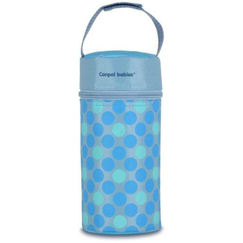 Термосумка Canpol babies для детских бутылочек, Retro, цвет голубой (250989567), Бутылочки и ниблеры  - купить со скидкой