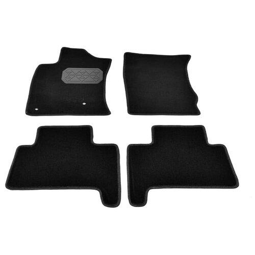 Комплект ковриков салона NorPlast NPL-VTe-470-400 для Lexus GX 4 шт. черный