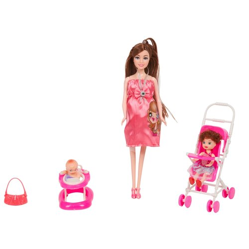 Набор кукол Счастливая семья c аксессуарами, Д81585