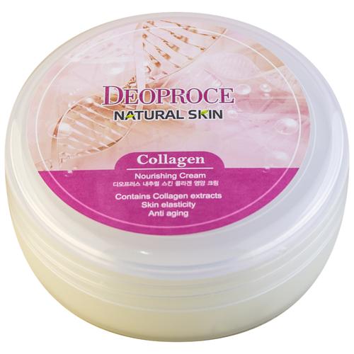 Крем для тела Deoproce Natural Skin Collagen Nourishing Cream, 100 г