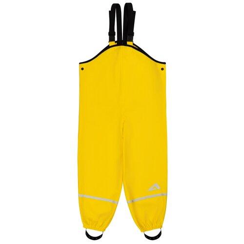 Купить AOAS00PT3RB18 Брюки-дождевики детск. Клео 6-7 л размер 122-64-63 цвет желтый, Oldos, Полукомбинезоны и брюки
