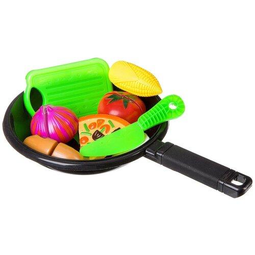 Набор продуктов с посудой Yako Моей малышке Д87109 разноцветный