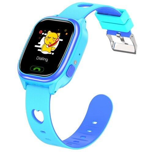 Детские умные смарт-часы Smart Baby Watch Y85 2G, с поддержкой Wi-Fi и GPS, SIM card (Голубой) детские умные часы телефон с gps smart baby watch df25 голубые