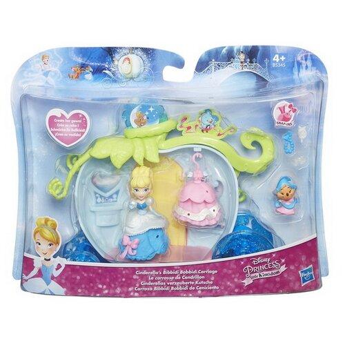 Купить Игровой набор Hasbro Disney Princess с маленькими куклами и аксессуарами, 3 вида Золушка, Белль, Бел, Куклы и пупсы