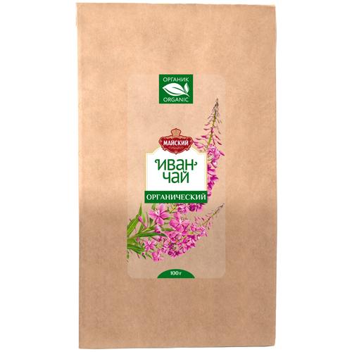 Фото - Чайный напиток Майский Иван-чай   Органический, листовой, 100 г напиток чайный конфуций из ягод годжи листовой 55 г