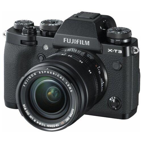 Фото - Фотоаппарат Fujifilm X-T3 Kit черный Fujinon XF 18-55mm F2.8-4 R LM OIS объектив fujifilm gf 45 100mm f4 r lm ois wr