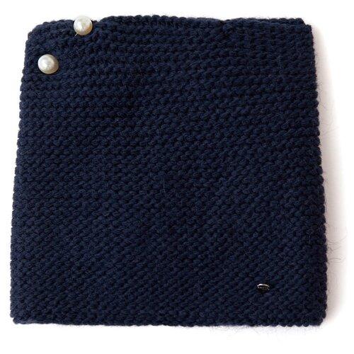 шапка женская finn flare цвет ярко синий a20 11148 111 размер 56 Шапка женская Finn Flare, цвет: темно-синий A20-32146_101, размер: 56
