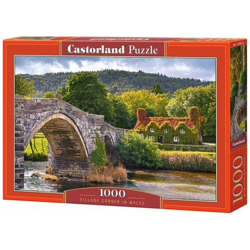 Пазл Castorland Местечко в Уэльсе, 1000 эл. 4673/C-104673 пазл castorland 1000 эл сердце лондона 41664