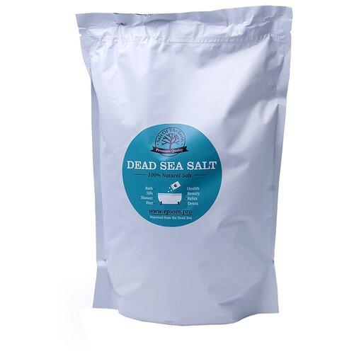 Фото - Salt of the Earth Соль Мертвого моря, 2.5 кг соль мёртвого моря соль мертвого моря крупная