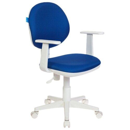 Компьютерное кресло Бюрократ CH-356AXSN детское, обивка: текстиль, цвет: 15-10 компьютерное кресло бюрократ ch w797 abstract детское обивка текстиль цвет мультиколор абстракция